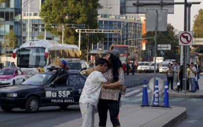Powerful Earthquake Strikes South, Central Mexico
