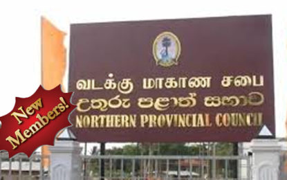 New Members to the Northern Provincial Council