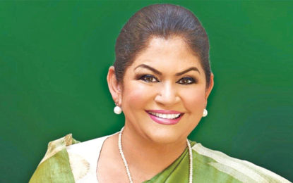 Rosy Senanayake Urged the EC Chairman to Implement The 25% Quota for Female Representatives in LG Bodies