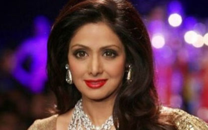 Veteran Bollywood Actor Sridevi No More With Us