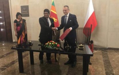 State Minister Senanayake Visits Poland