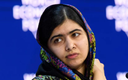 Malala returns to home town in Pakistan for first time since shooting