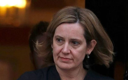Amber Rudd Resigns as Home Secretary