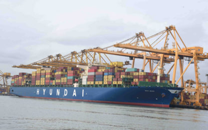 Sri Lanka Ports Authority Posts 15.3-pct Growth in 1Q 2018