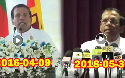 Who Gave Helicopter Ride to Defeated Mahinda to go to Tangalle?