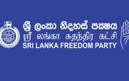 Disciplinary action against SLFP Parliamentarians who crossed over