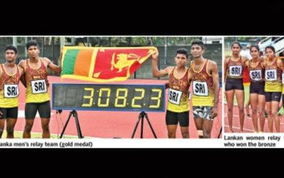 Sri Lanka Fifth at Asian Junior Athletics