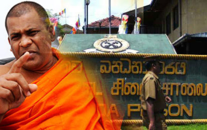 Removal of Yellow Robes of BBS Gnanasara Thera without Sanga Saba Approval Wrong.