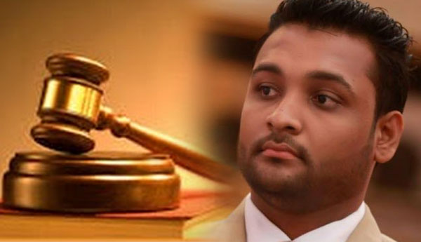 Bail Granted to Palitha Range Bandara's Son Yashoda Range Bandara