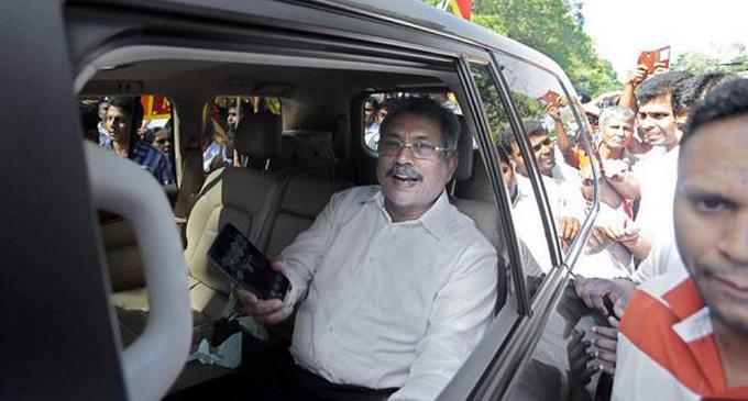 Gotabaya Rajapaksa arrives at Special High Court