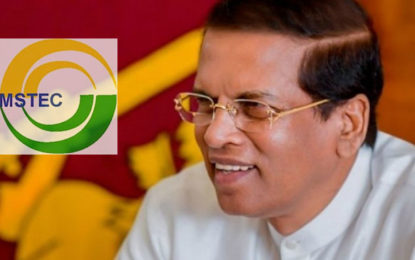 Chairmanship of the BIMSTEC handed over to President Maithripala Today