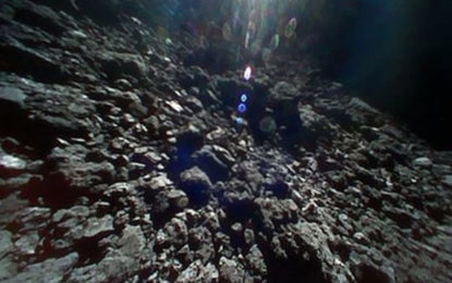 Hayabusa 2 rovers send new images from Ryugu surface