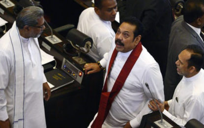Mahinda Rajapaksa-faction to boycott Parliament today?