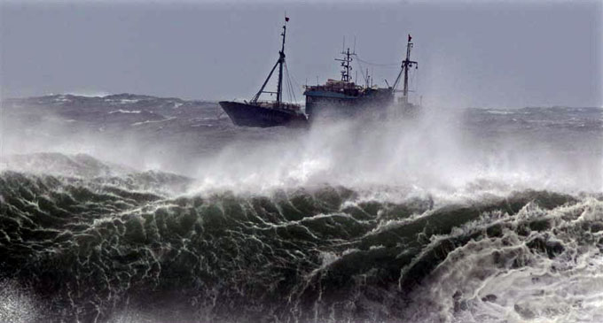 Advisory for rough seas and strong wind issued