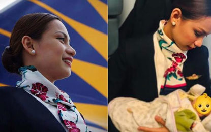 Philippine Airlines' flight attendant breastfeeds passenger's baby after mother runs out of formula milk