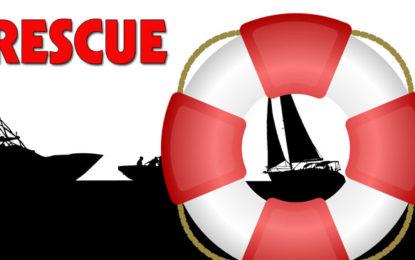 5 Fishermen rescued in seas off Kirinda