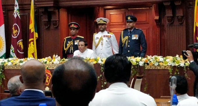 New Cabinet tomorrow: Six include from SLFP