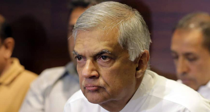 """""""brutal ISIS organisation will not be allowed to destabilise the country's economy"""" – PM Ranil Wickramasinghe"""