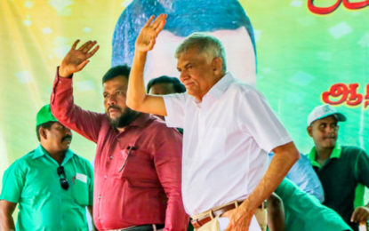 Rishad Bathiudeen praises Premier for leadership towards historic triumph of democracy