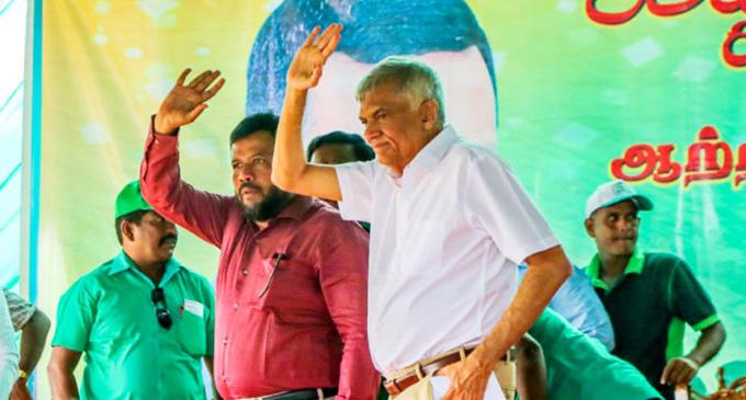 Rishad Bathiudeen praises Premier for leadership towards historic triumph of democracy