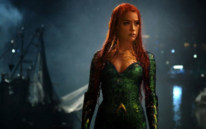 Aquaman actor Amber Heard: Audiences want to see women occupying strong roles