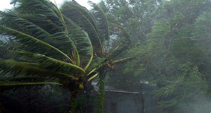 Fairly strong winds in several provinces
