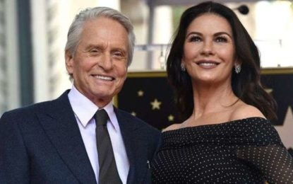 Douglas asked Zeta-Jones to tap dance in bathroom