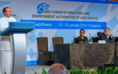 Human activities should not threaten the regeneration capacity of nature – President