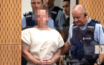 New Zealand Mosque attacks' suspect appears in Court [UPDATE]