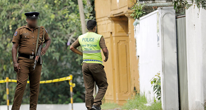 Rs. 134 million in 41 accounts of Easter Sunday attackers suspended