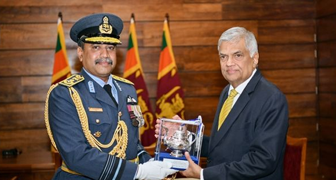 Air Force Commander calls on PM