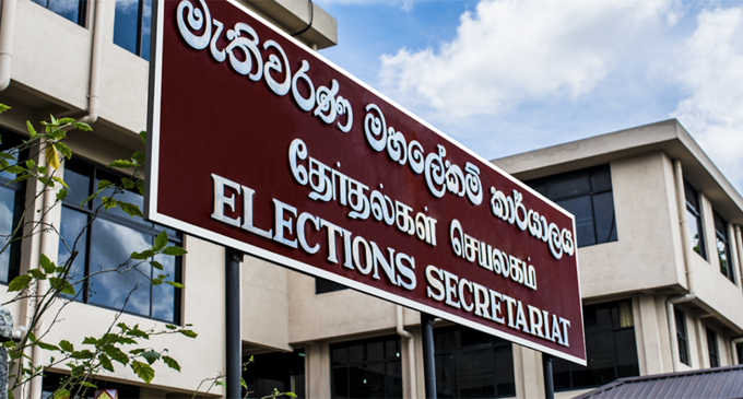 Special meeting between Election Commission and Political Reps. today