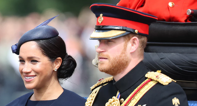 Leaving baby behind for 'Trooping the Colour' was 'difficult' for Meghan Markle