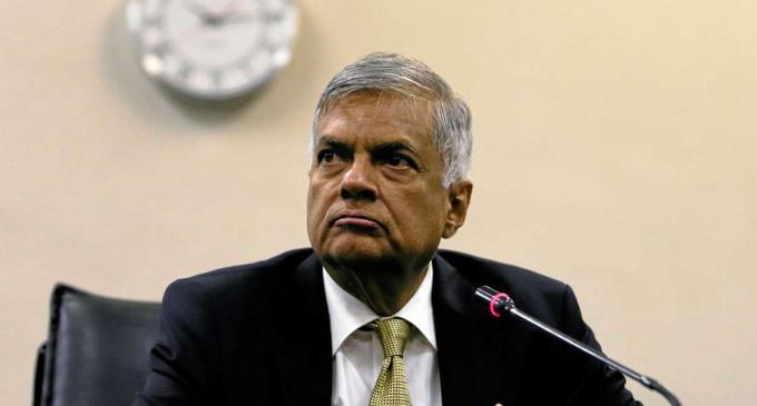 Sri Lanka's economic growth bound to go down to -3.5% – Ranil warns
