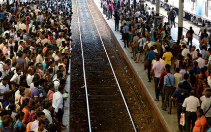 Rail commuters stranded due to train strike