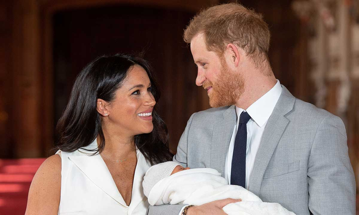 New father Prince Harry seems to be really happy