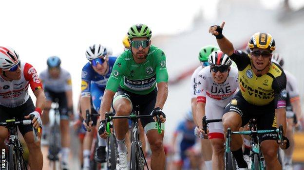 Groenewegen wins stage 7 of Tour de France