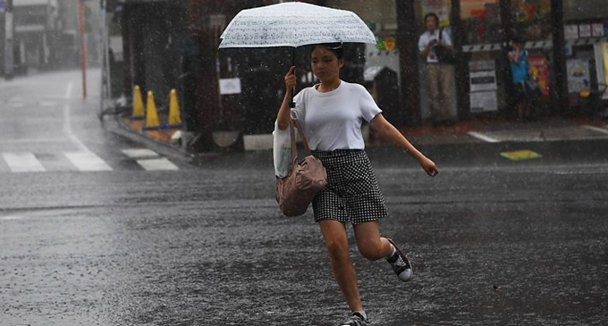 Krosa: One dead, 49 injured as tropical storm hits Japan
