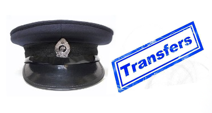 15 senior police personnel issued transfers