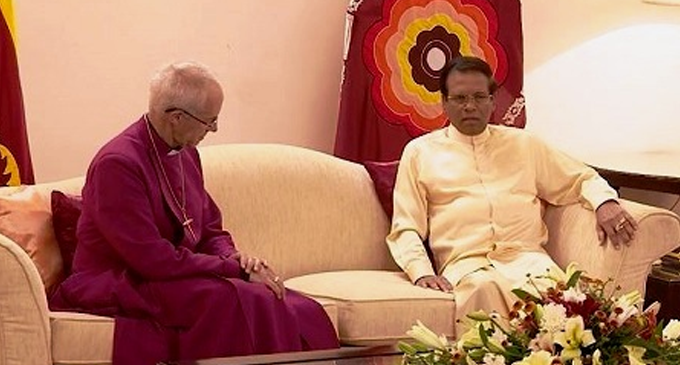 Archbishop of Canterbury lauds President for protecting privileges of religious leaders