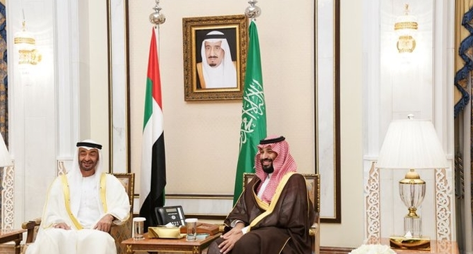 Sheikh Mohamed, Saudi Crown Prince discuss latest regional challenges