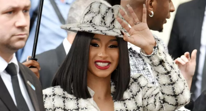 Cardi B enjoys money that comes with acting