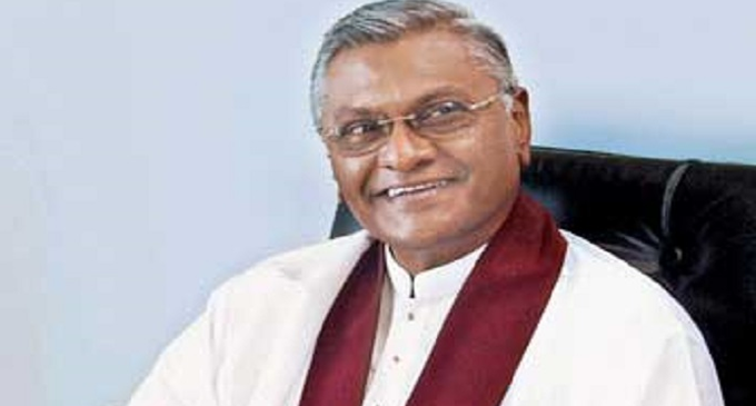 Chamal Rajapaksa took oaths as State Minister