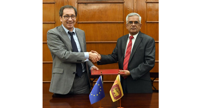 EU to co-finance project to support long-term peace in Sri Lanka
