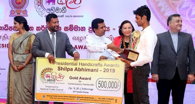 Sri Lanka craft sector wins free insurance cover for the first time in history