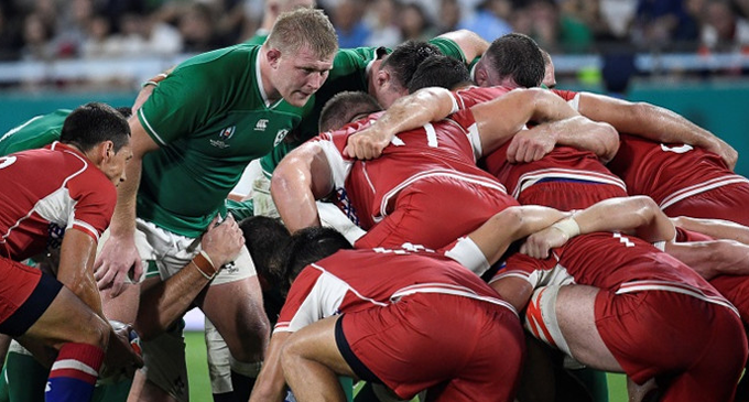 Unconvincing Ireland too strong for Russia at Rugby World Cup