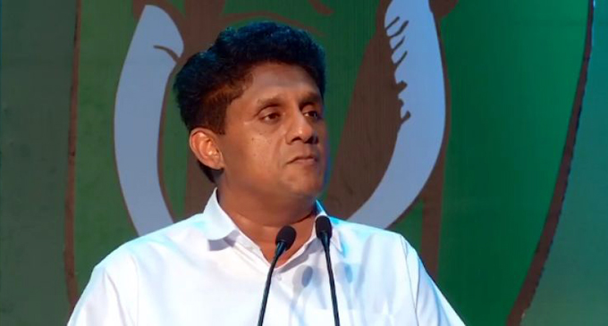 Sajith says will initiate an economic revolution
