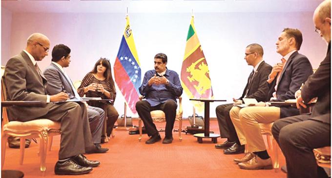Sri Lanka to strengthen ties with Venezuela