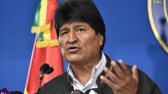 Bolivia's Morales to call fresh election after OAS audit