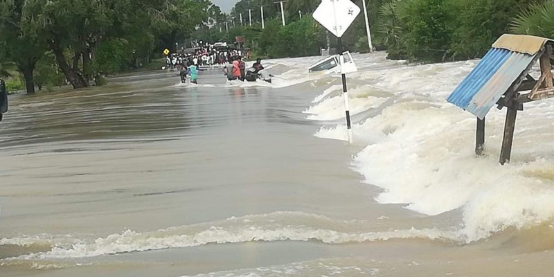 14,000 in 14 districts affected by bad weather